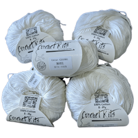5 Hanks Balls of Cotton Yarn